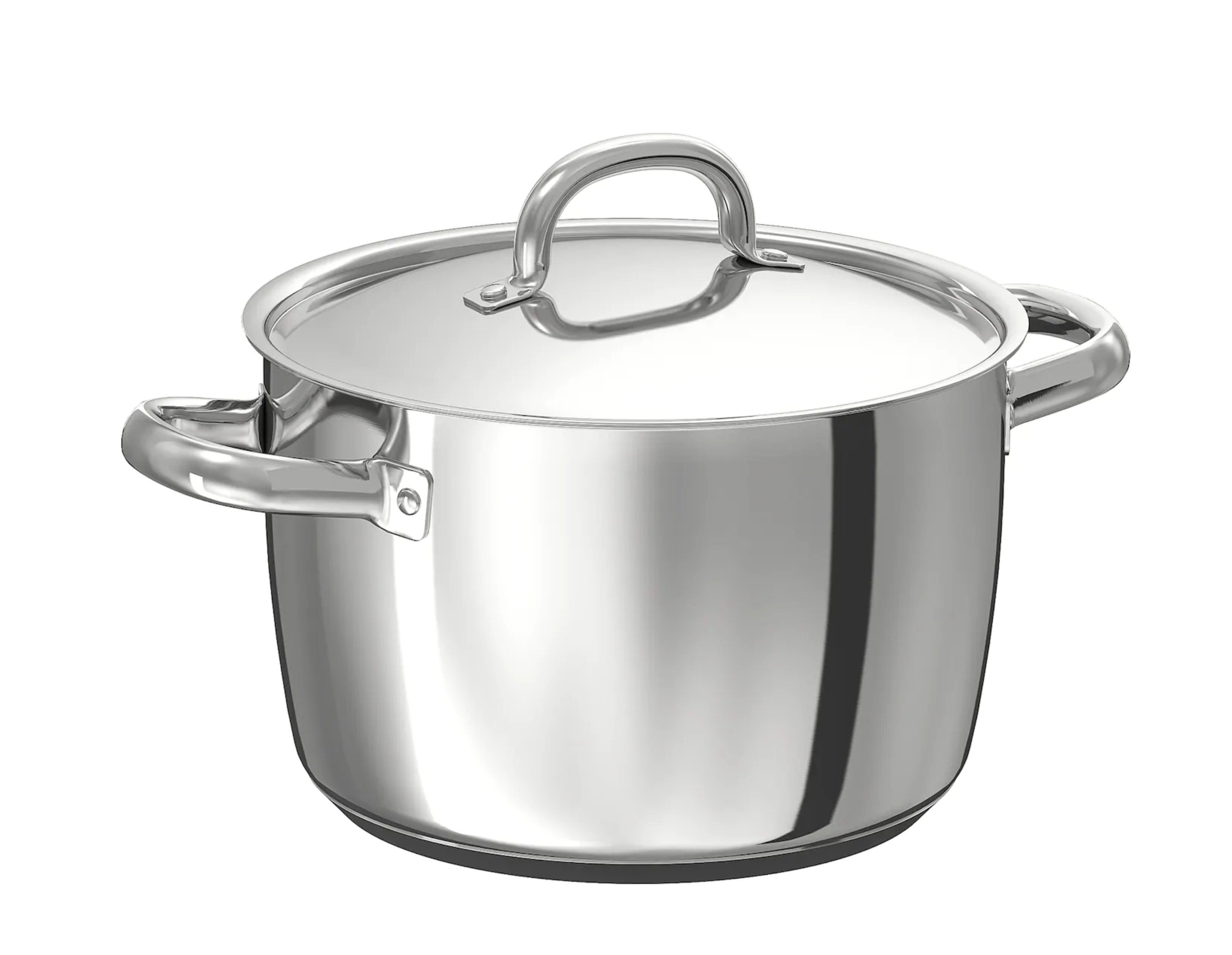 Kookpot met deksel (5l)