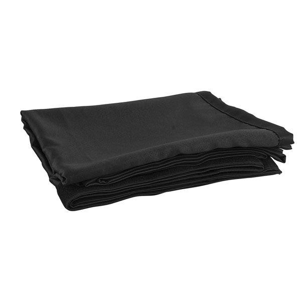 Set Scheidingswand zwart 3x3m