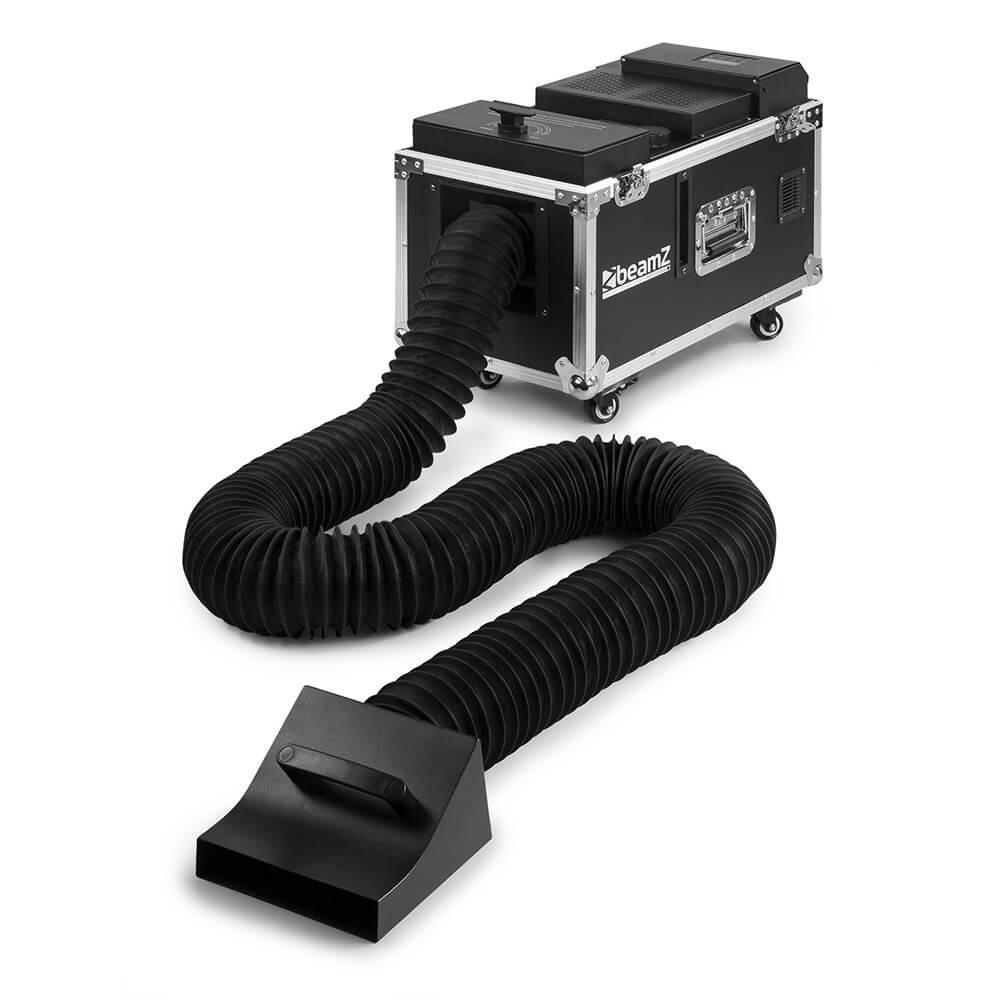 Rookmachine lage rook 1000w water based (incl. 5 liter rookvloeistof)
