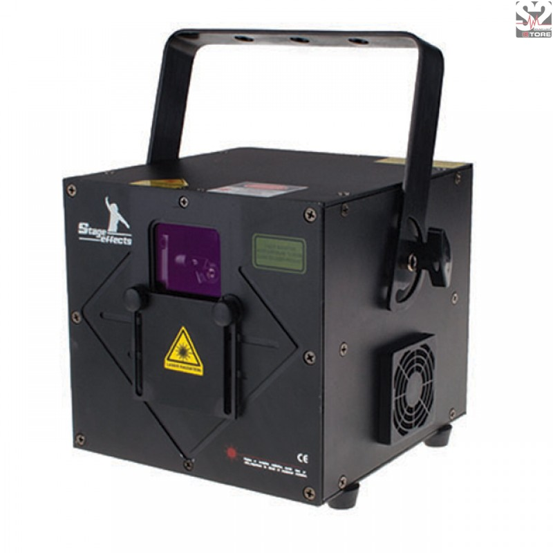 Lichteffect Laser Cube 500mw RGB/ DMX