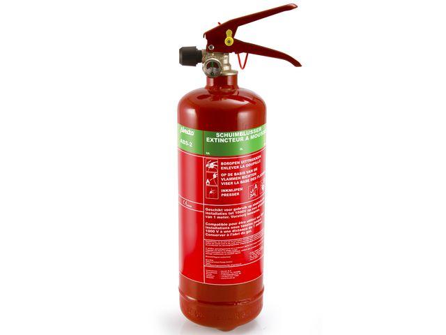Brandblusapparaat 2 liter