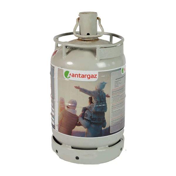 2 halfvolle gasflessen propaan - buitendraad